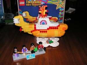 This is the complete set of the Yellow Submarine at the end of Session 5.