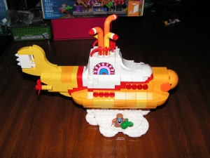 This is a side view of the Yellow Submarine after Session 5.