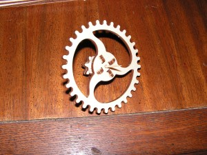 This is the first subassembly from Session 3, a gear.