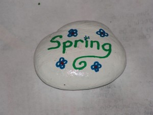 This is the top of my spring rock.