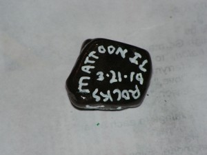 Here is the bottom of my dream rock.