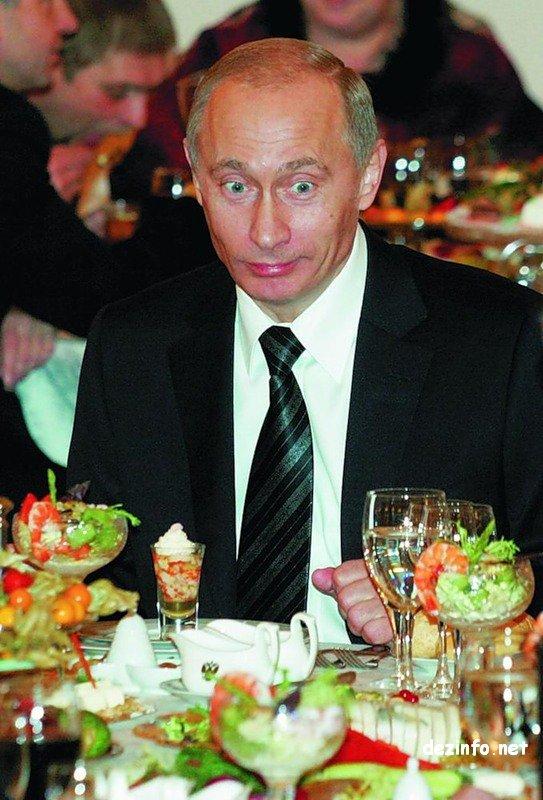 Фото Путина с юмором
