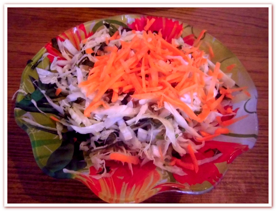 обед салат