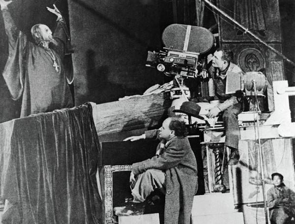 Съёмки Ивана Грозного