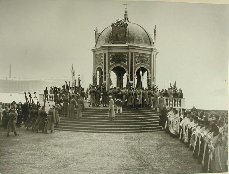 1904 г. Крещение Господне_Государь
