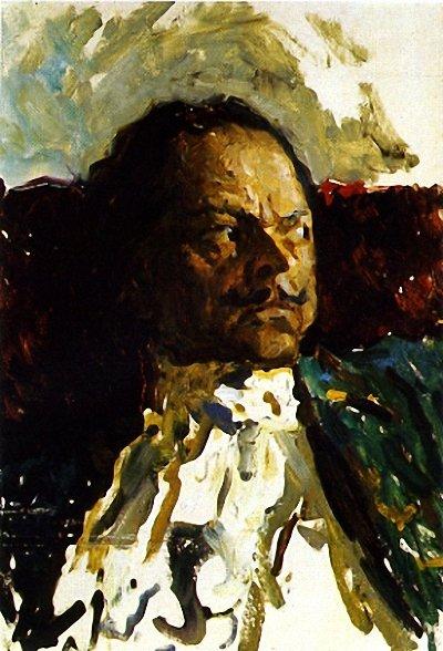 Кириллов_эскиз к картине Петр Великий 1984 г.