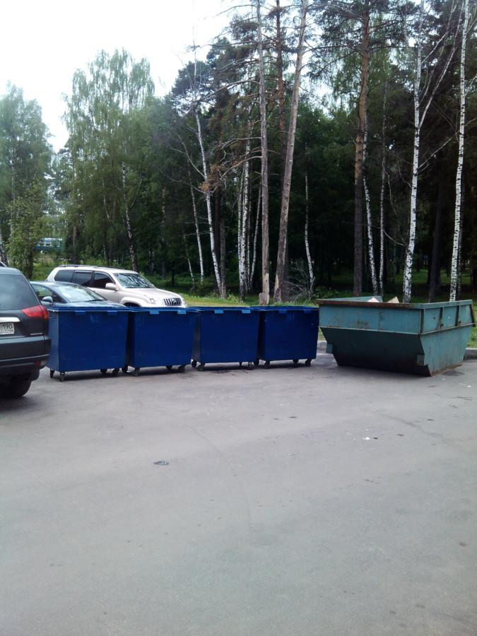 Образцово-показательный контейнер во дворе дома 16 на ул. Ленинской. Это просто «волшебное место», идеальный порядок, ухоженные газоны и т. п. Мэр нашего города — В.В. Кирпичев утверждает, что у него нет в собственности жилья в этом доме.