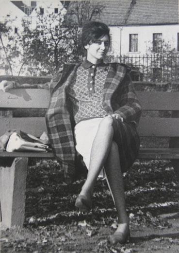 Мама - Польша. Лешно-Гурна. 1963-64
