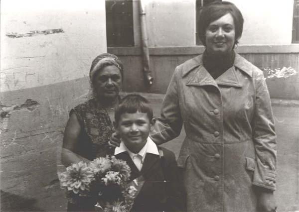 Мама. 1 сентября 1973