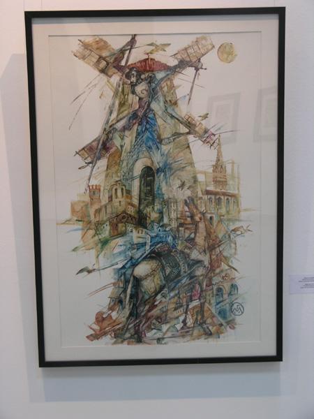 Михаил ГАРДУБЕЙ - Выставка в центре Сервантеса в Москве