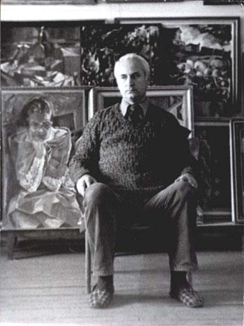 Юрий Михайлович Фёдоров - В мастерской у М.Гардубея. 1985