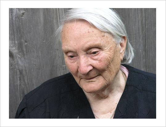 Бабушка. 2004 год