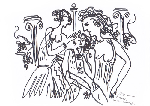 Дионис и Менады