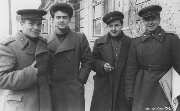 Семён Гудзенко. 1945