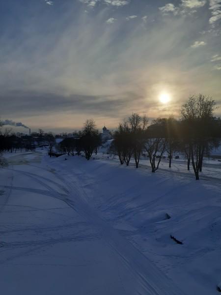 Псков. Зима