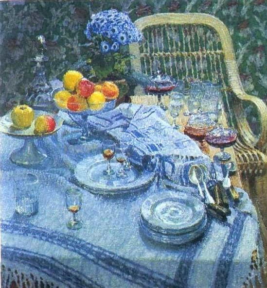И. Грабарь. Неприбранный стол.1907