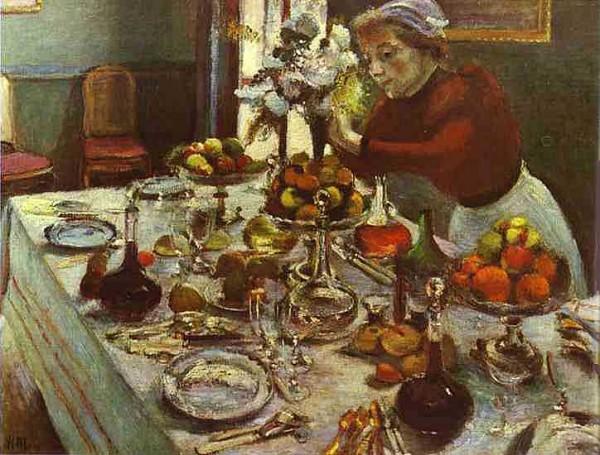 Матисс Обеденный стол.1897