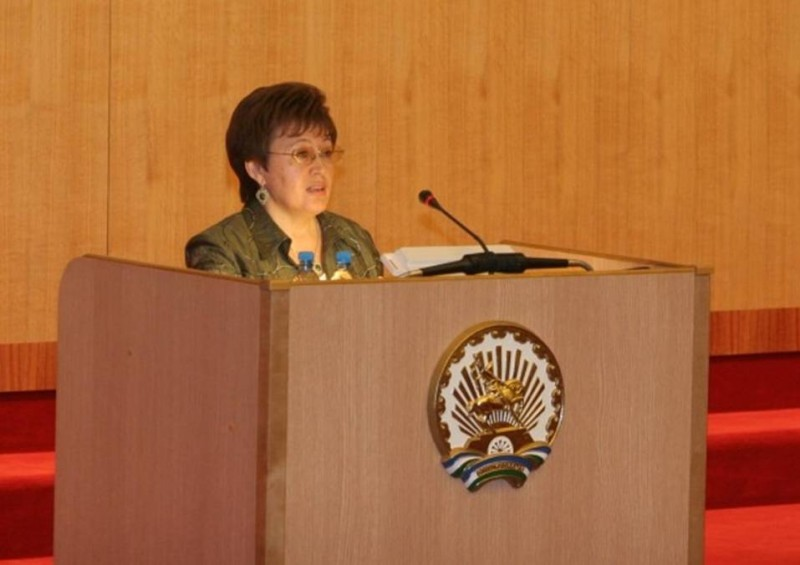 Рис. 1. Салия Мурзабаева.