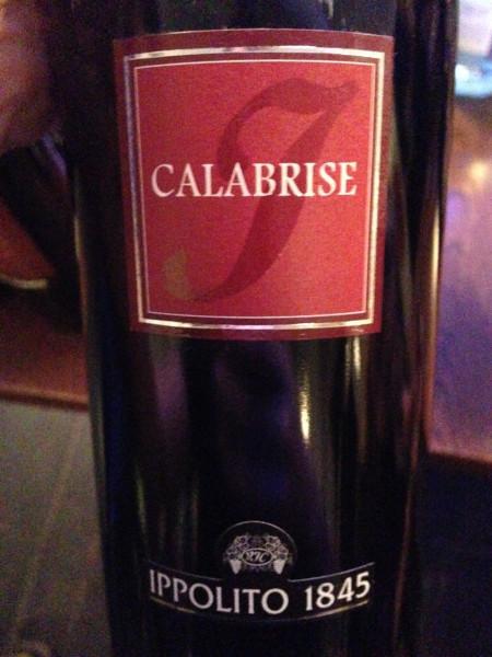 Calabrise Rosso IGT Calabria