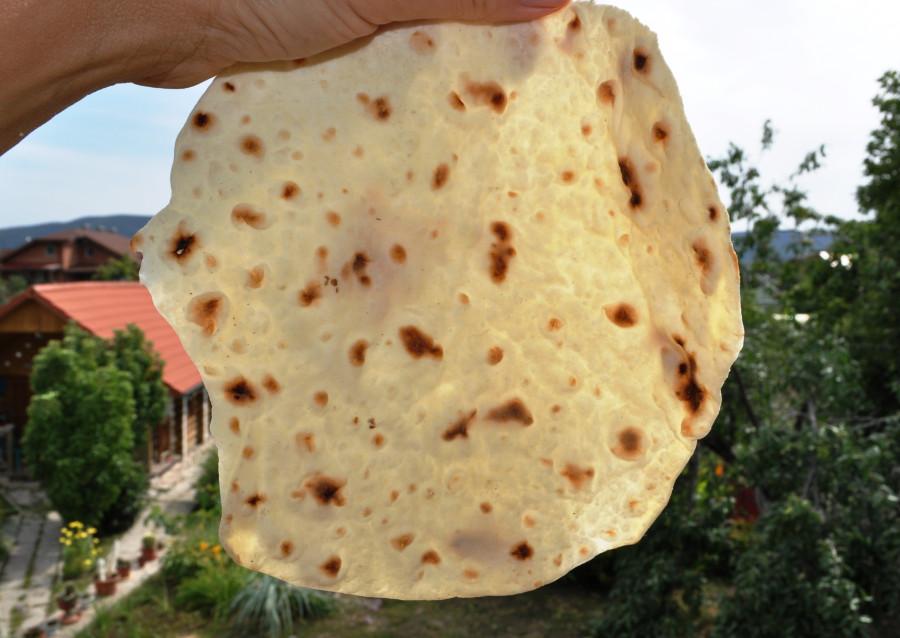 Тесто для тонкого лаваша для шаурмы — photo 2