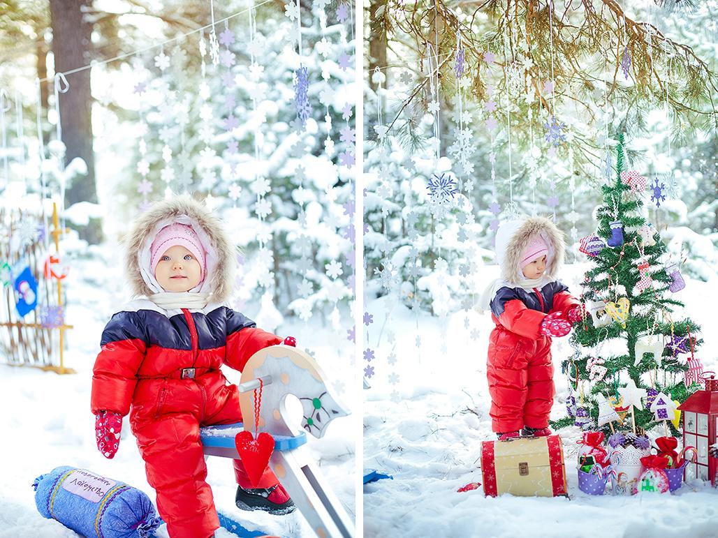 Зимний фотопроект на улице