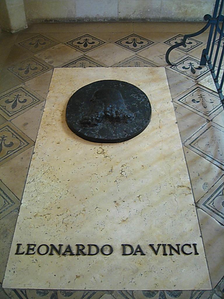 IMG_449 Часовня примечательна тем, что здесь похоронен Леонардо да Винчи
