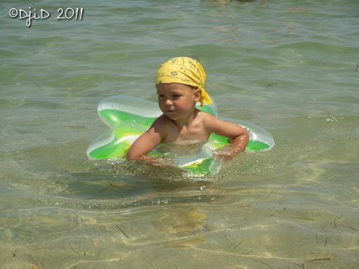Ілля плаває у зірочці