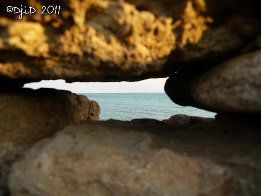 Вигляд на море з городища Беляус