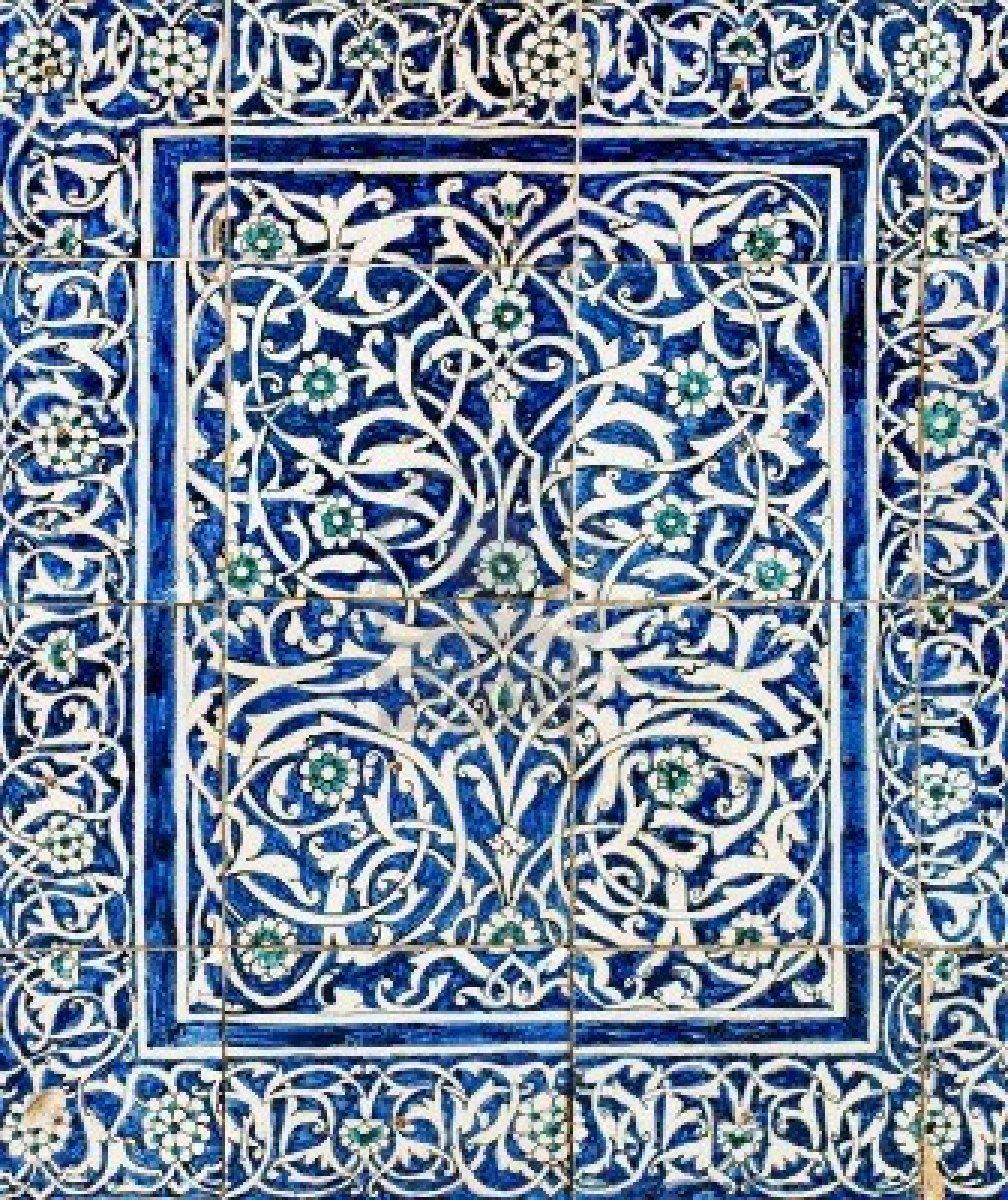 4665366-maiolica-fondo-con-ornamenti-orientali
