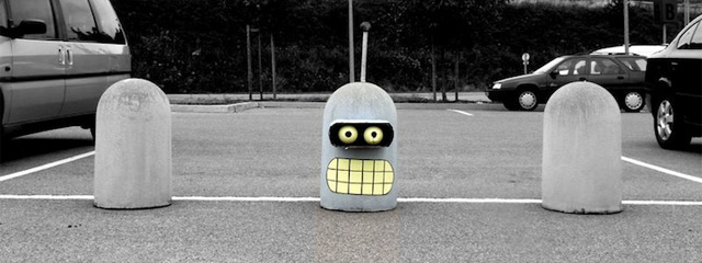 futurama-bender-street-art