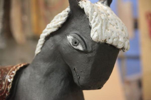 Лошадка из шамота. Мастер-класс