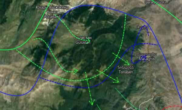 Армяно-Азербайджанская война 2020 (день третий): итоги боев 29 сентября (КАРТЫ