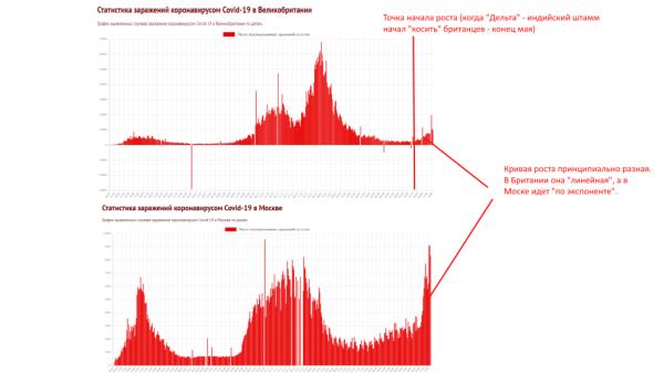Вакцинация во спасение – пример Великобритании. Почему Youtube зажимает мое