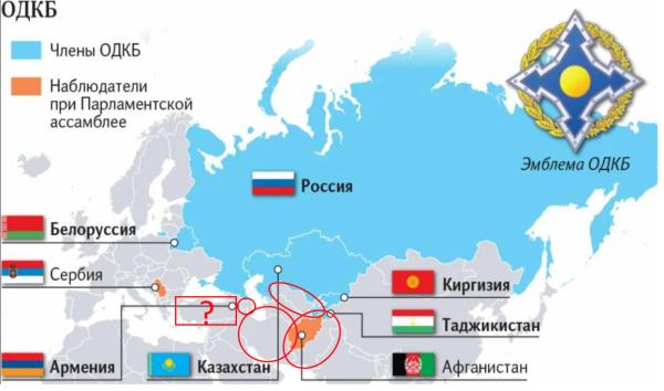 ОДКБ - движение на юг: Узбекистан, Азербайджан, , кто следующий?