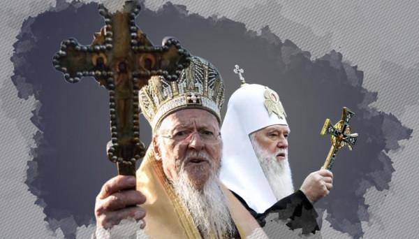 Филарет и церковное «украинство» под гнетом Константинополя