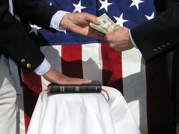 Такая коррупция как в США нам даже не снилась