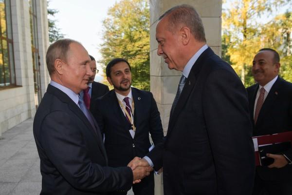 Путин и Эрдоган решили будущее Сирии сами, без американцев