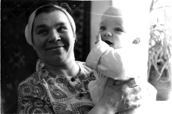 Я с бабулей_1975