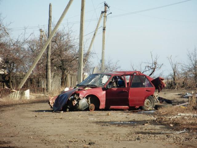 Никишино Люди ехавшие в этом автомобиле выжили просто чудом