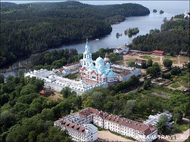 Валаам монастырь схема