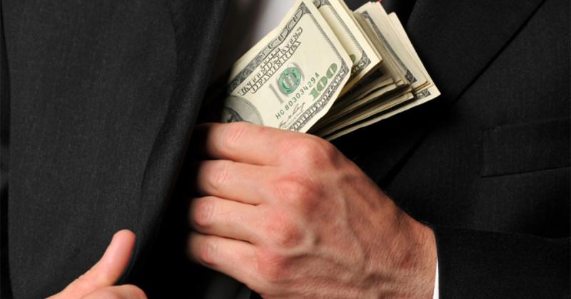 Схемы воровства бюджета