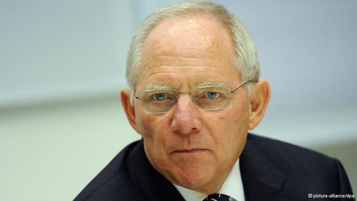 Министр финансов Германии Вольфганг Шойбле (Wolfgang Schäuble)