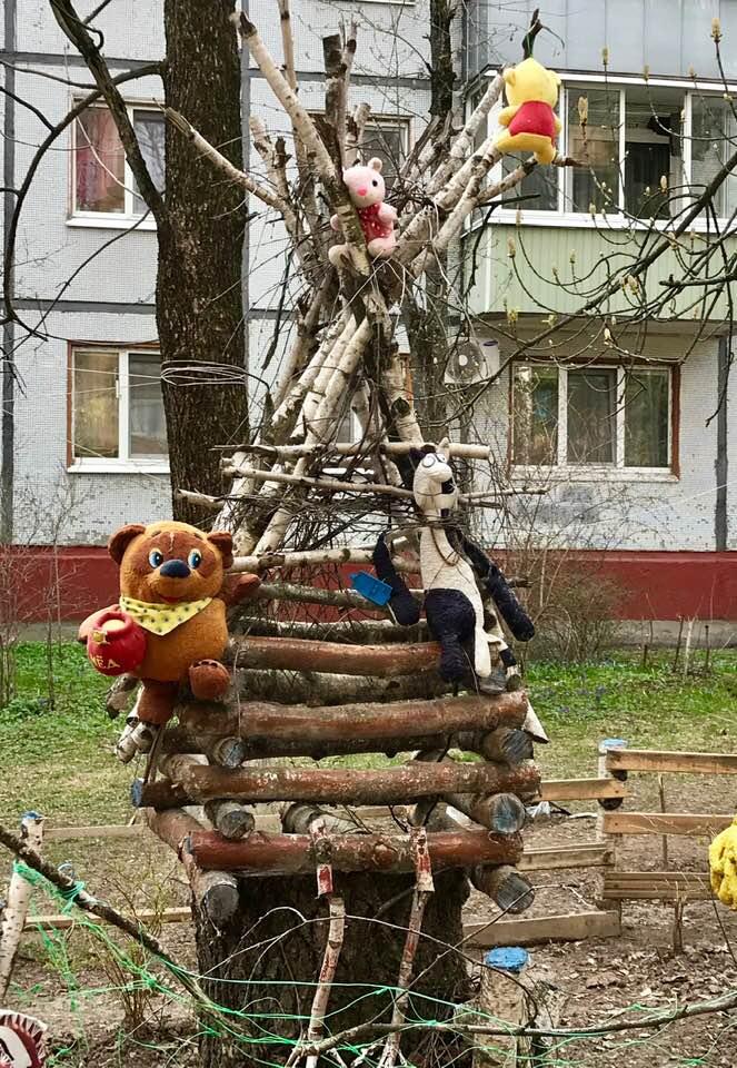 Трудное детство, деревянные игрушки