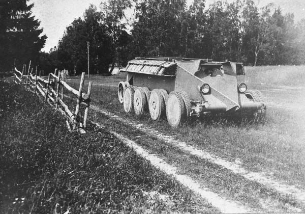 Танк Кристи для советской стороны