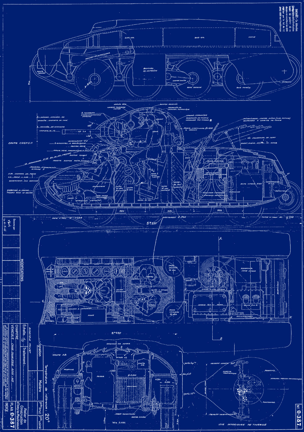 Blueprints For A Modern Four Bedroom Home: The Armored Patrol