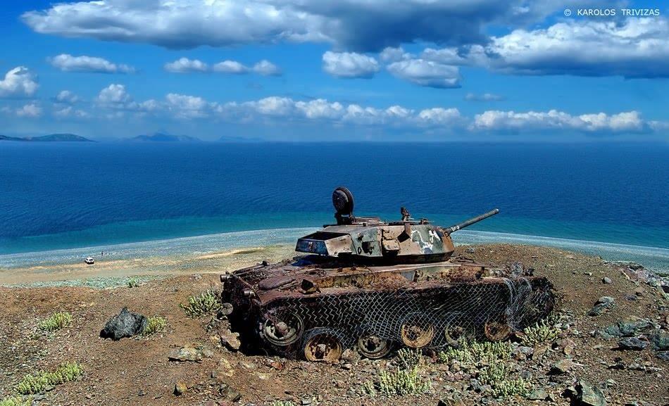 Как землю в остров Самотраки