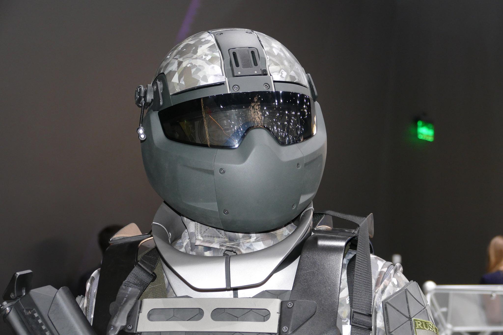 Прототип экзоскелета для военных РФ
