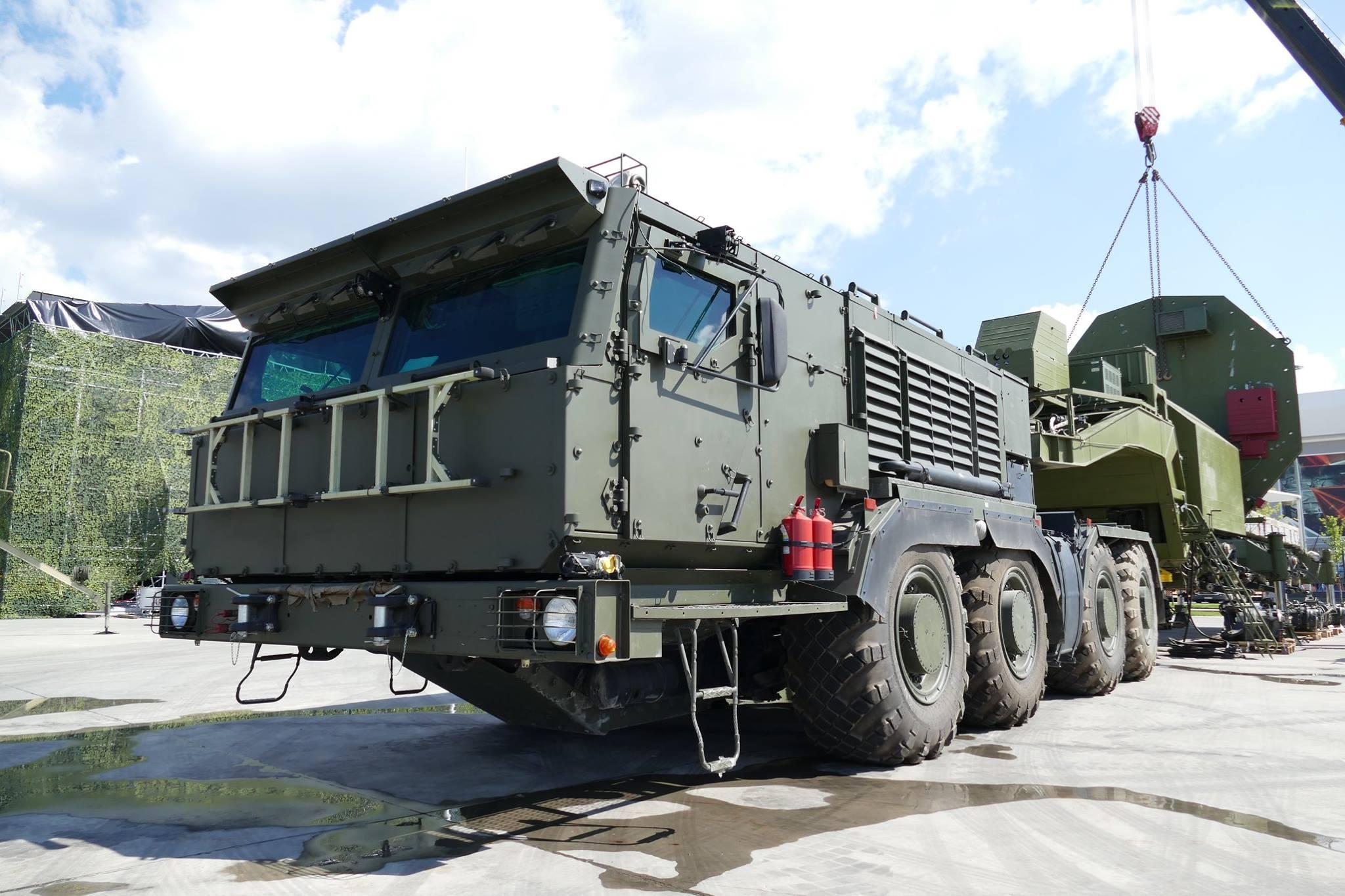 Камаз построил военный тягач фото