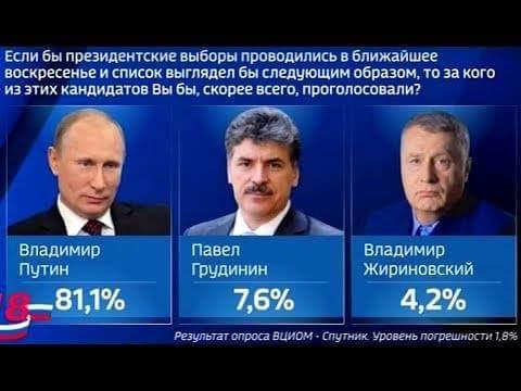 *Если выборы в России что - то  меняли, их бы власти   запрещали...
