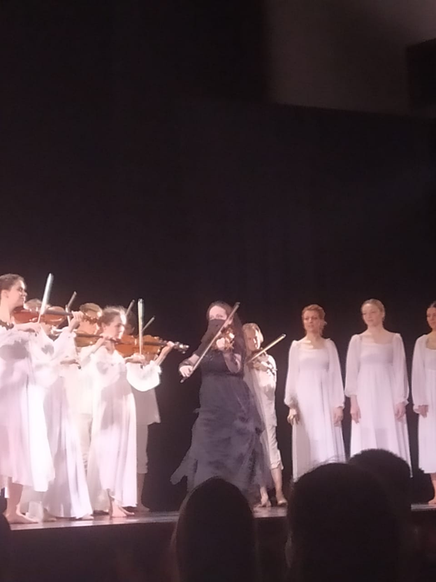 Елена Корженевич в роли Королевы теней